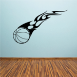 Blazing Trail Basketball Decal