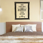 Our Very Own Happily Ever After Wall Decal
