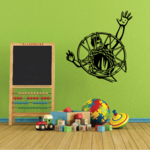 Basketball Wall Decal - Vinyl Decal - Car Decal - CDS179
