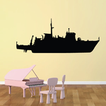 Minelayer Boat Decal