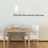 Bless this Wall Decal