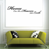 Home can be a Heaven on Earth Wall Decal