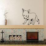 Kit Fox Decal