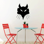 Abstract Fox with Whiskers Decal
