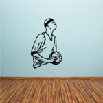 Basketball Wall Decal - Vinyl Decal - Car Decal - CDS025