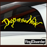 Days Of the new Decal