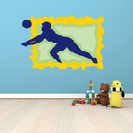 Volleyball Wall Decal - Vinyl Sticker - Car Sticker - Die Cut Sticker - CDSCOLOR058