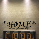 Home is where your story begins Decal