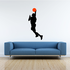 Basketball Double Clutch Decal
