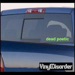 Dead Poetic Decal