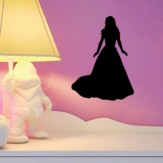 Admirable Bride Silhouette Decal