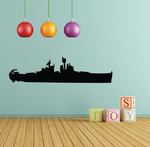 USS New Jersey Decal