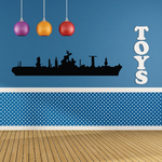 Amphibious Force Flagship Decal
