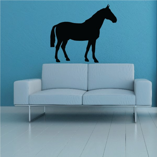 French Trotter Horse Decal