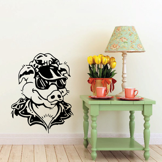 Skull Wall Decal - Vinyl Decal - Car Sticker - CD12010