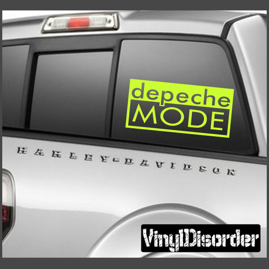 Depeche Mode Decal