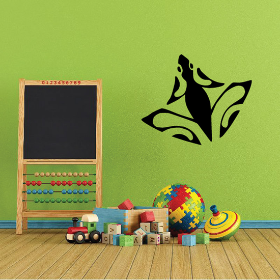 Abstract Spread Frog Decal