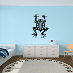 Patterned Tree Frog Decal
