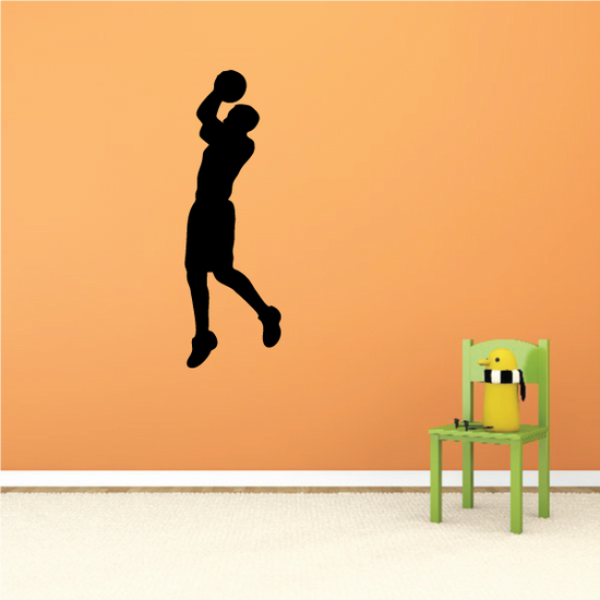 Basketball Pull Up Jumper Decal