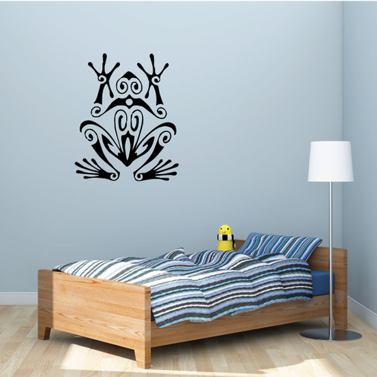Trippy Tree Frog Decal