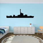 Large Landing Craft Support Ship Decal