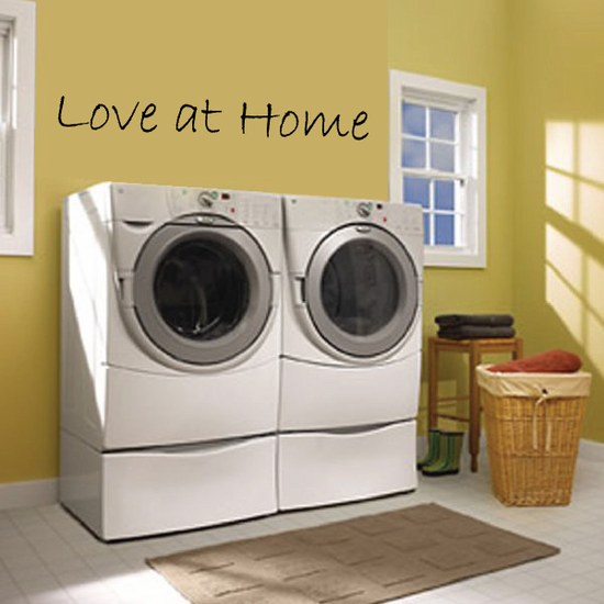 Love at Home Wall Decal