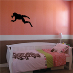 Swimming Frog Decal