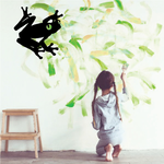 Watching Tree Frog Decal