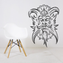 Skull Wall Decal - Vinyl Decal - Car Sticker - CD12050