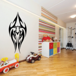 Tribal Abstract Frog Decal