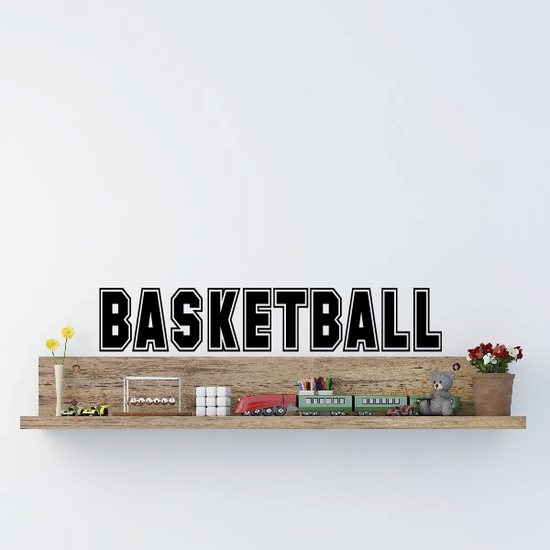 Basketball Sports College Style Decal
