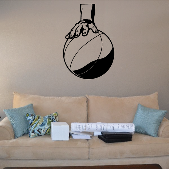 Basketball Wall Decal - Vinyl Decal - Car Decal - Bl039