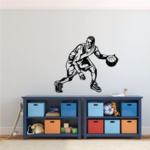 Basketball Wall Decal - Vinyl Decal - Car Decal - CDS090