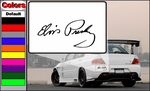 Elvis Presley Signature Decal