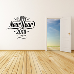 Elegant Happy New Year Decal