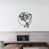 Basketball Wall Decal - Vinyl Decal - Car Decal - Bl043