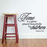 Time is a game played beautifully by children Heraclitus Wall Decal