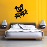 Tribal Tree Frog Decal