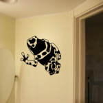 Camo Frog Decal