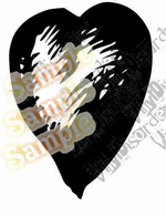 Foo Fighters Heart Decal