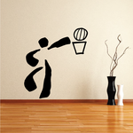 Basketball Wall Decal - Vinyl Decal - Car Decal - Bl045
