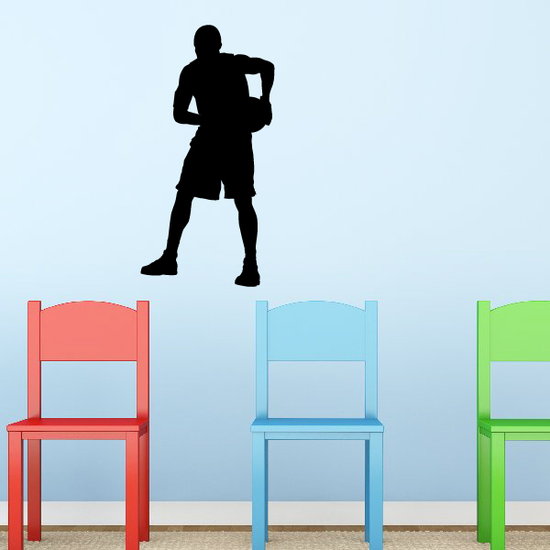 Basketball Player Pick and Roll Decal