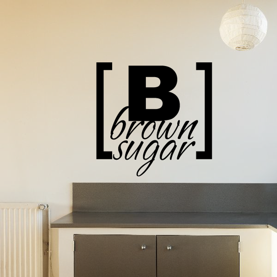 Brown sugar Decal