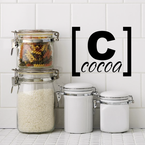 Cocoa Decal