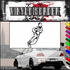 Basketball Wall Decal - Vinyl Decal - Car Decal - SM001