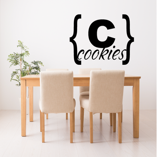 Cookies Brackets Decal
