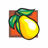Yellow Pear Sticker
