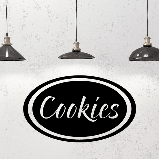 Cookies Oval Decal