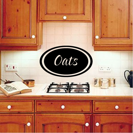 Oats oval Decal