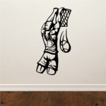 Basketball Wall Decal - Vinyl Decal - Car Decal - CDS038